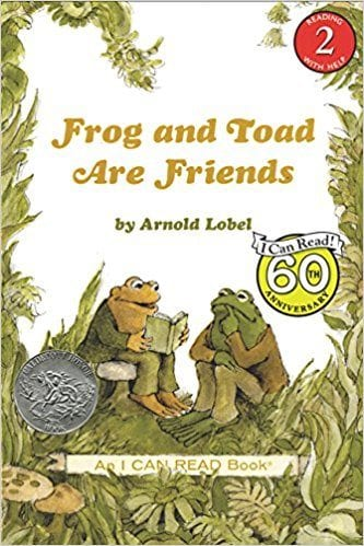 Book cover for Frog and Toad are Friends