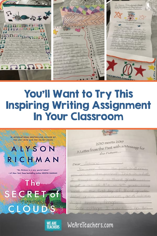 This Third Grade Teacher's Writing Assignment Will Inspire You In All the Best Ways