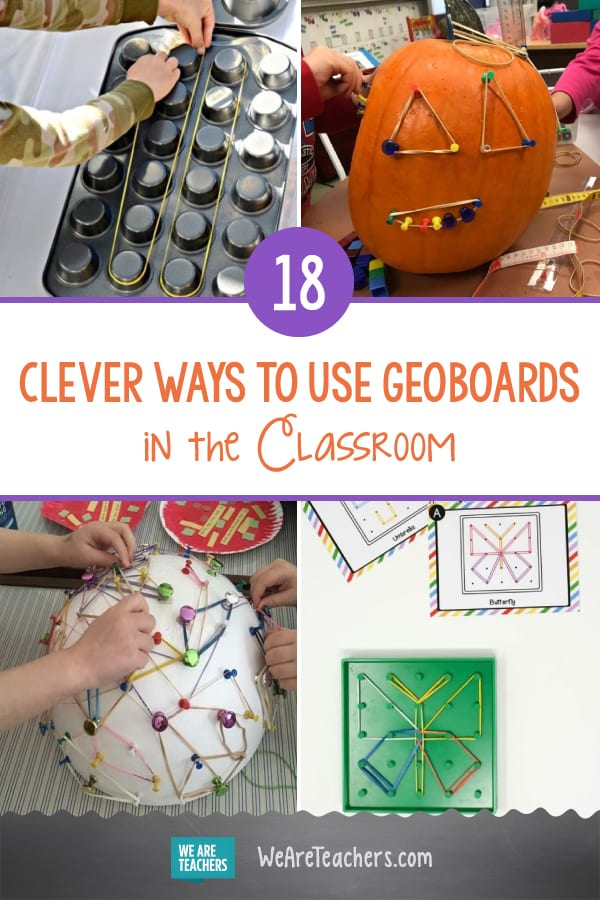 18 Clever Ways to Use Geoboards in the Classroom