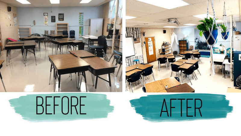 Get Inspired with Classroom Before and After Transformations