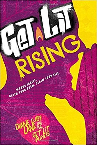 Book cover for Get Lit Rising, as an example of poetry books for kids