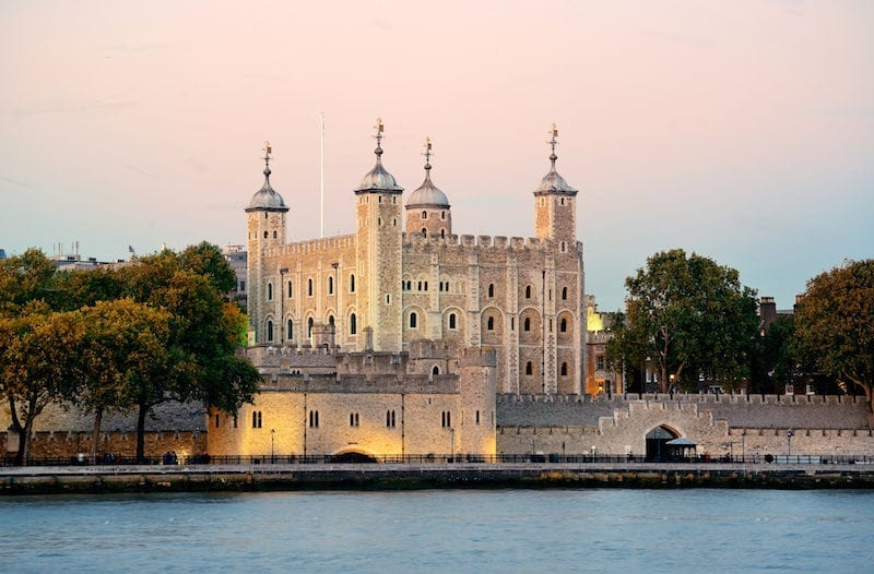 Tower of London in article about major field trip fundraising ideas