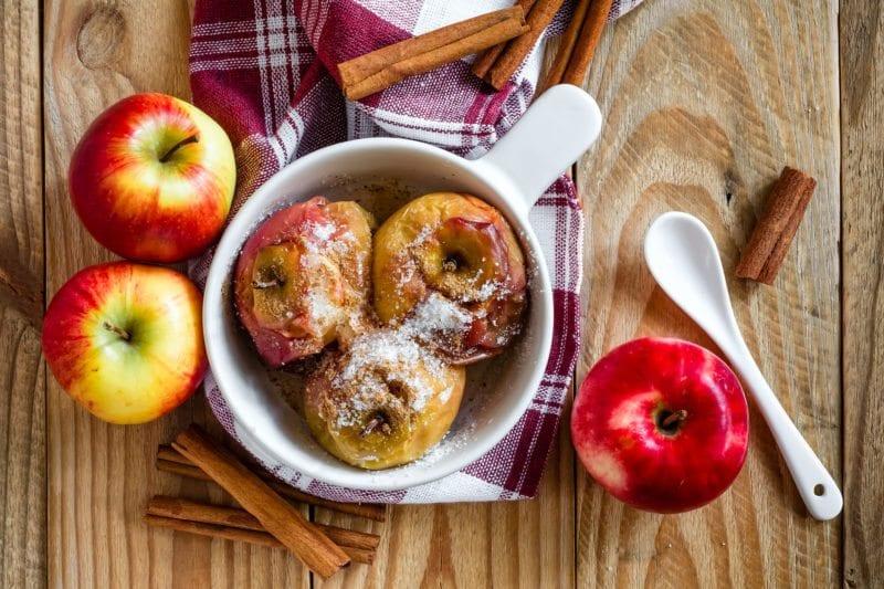 Walmart online grocery pickup - Baked apples