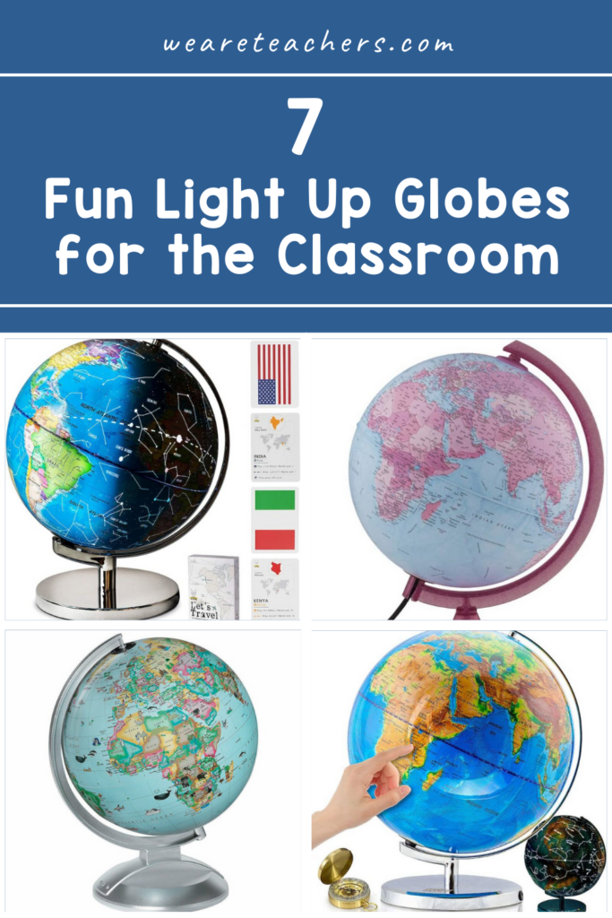 7 Fun Light Up Globes for the Classroom