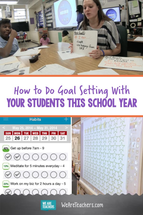 How to Do Goal Setting With Your Students This School Year