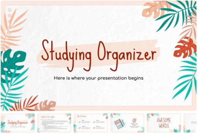 Google Slides Templates Study Guide