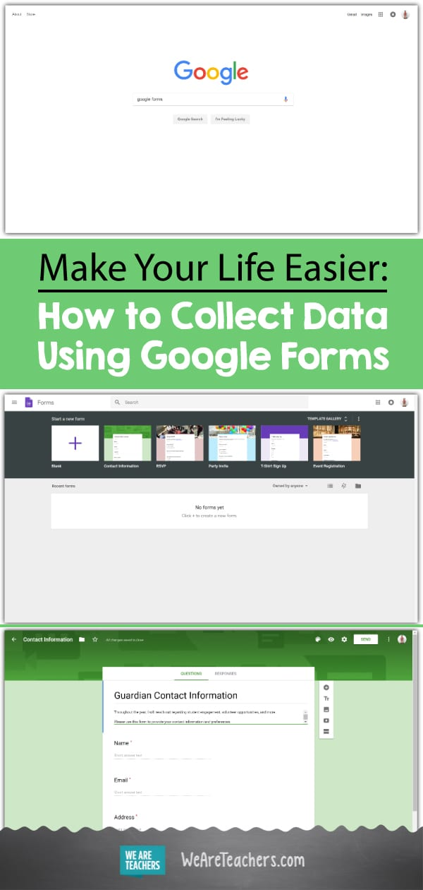 Make Your Life Easier: How to Collect Data Using Google Forms