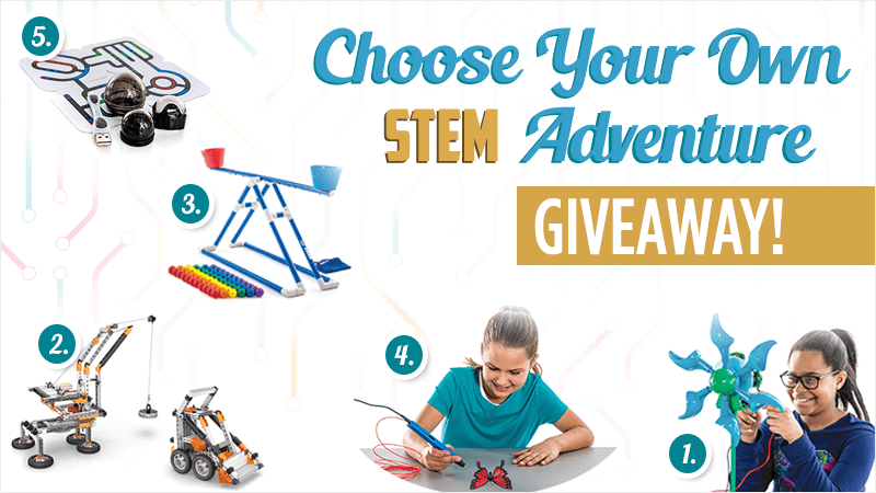 Choose Your Own STEM Adventure Giveaway