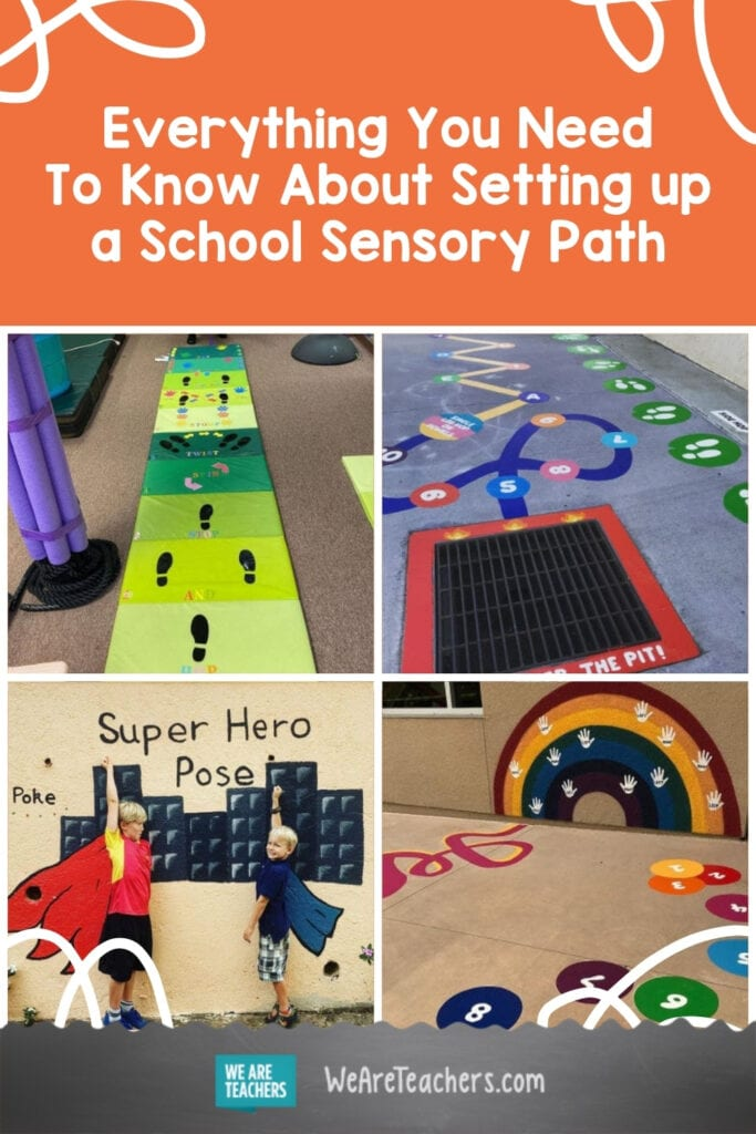 Everything You Need To Know About Setting up a School Sensory Path
