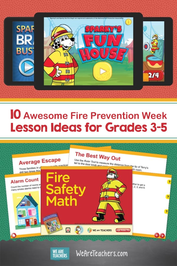 10 Awesome Fire Prevention Week Lesson Ideas for Grades 3-5
