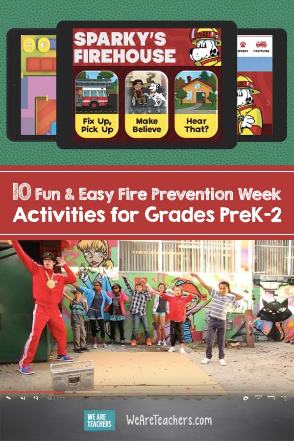 10 Fun &  Easy Fire Prevention Week Activities for Grades PreK-2