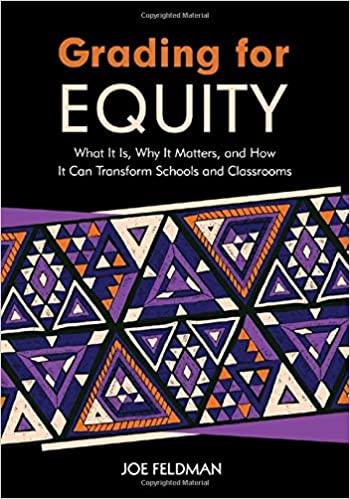 "Professional Development Book Cover for ""Grading for Equity"" by Joe Ferguson"