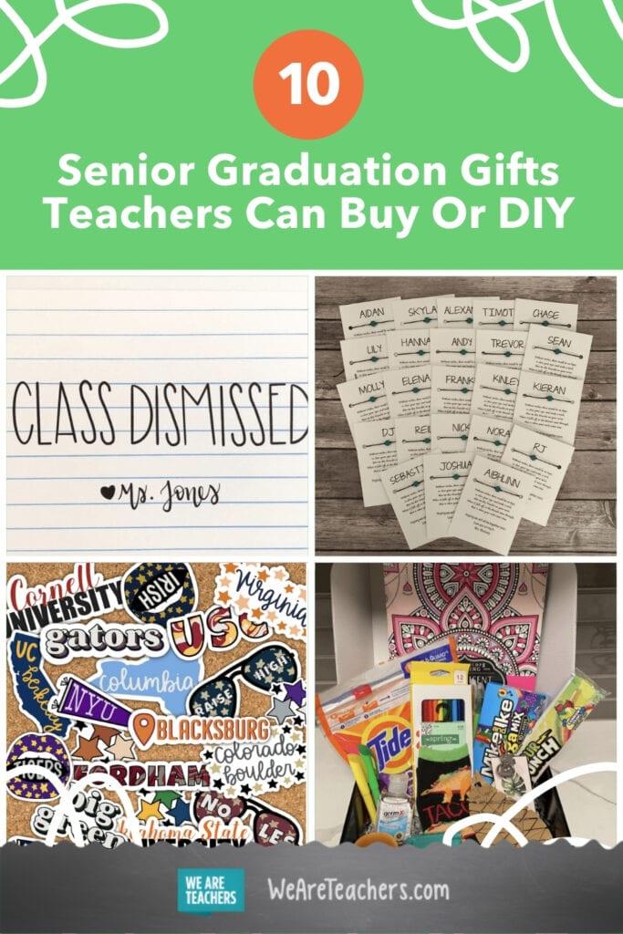 10 Senior Graduation Gifts Teachers Can Buy Or DIY