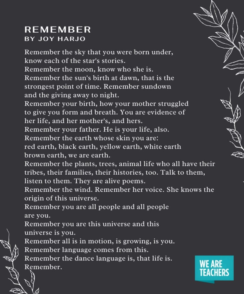 Graduation Poems - Remember