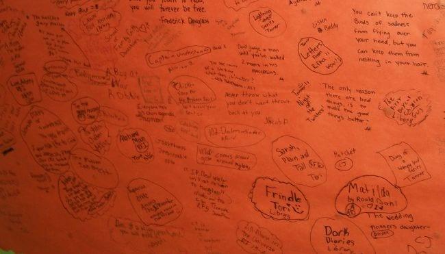 Graffiti Walls I Run Read Teach