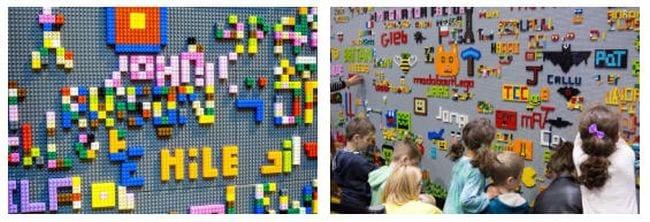 Graffiti Walls Lego