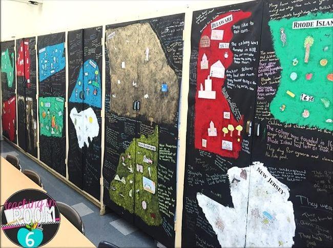 Graffiti Walls Teaching in Room 6