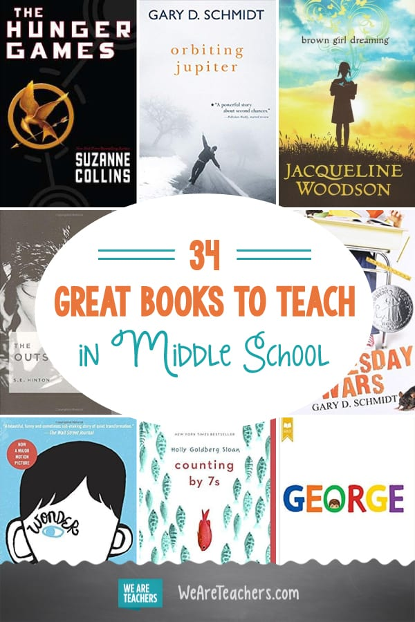 34 Refreshing and Relatable Books to Teach in Middle School