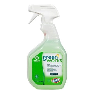 Classroom Cleaning Supplies Green Spray