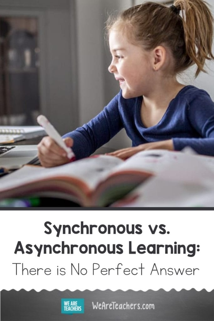 Synchronous vs. Asynchronous Learning: There is No Perfect Answer