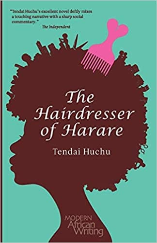 The Hairdresser of Harare book cover.