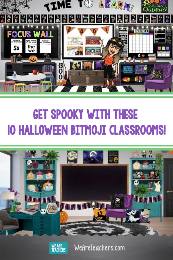 Get Spooky With These 10 Halloween Bitmoji Classrooms!