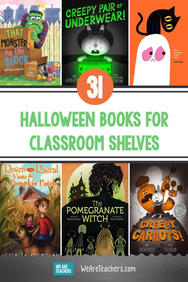 31 of the Best Halloween Books for Classroom Shelves