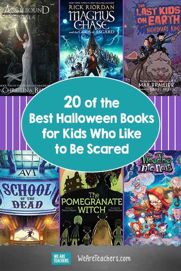 20 of the Best Halloween Books for Kids Who Like to Be Scared