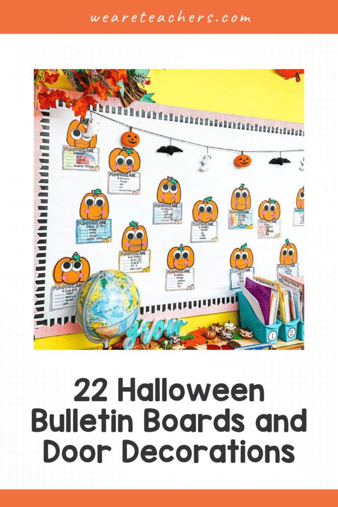 22 Spooktacular Halloween Bulletin Boards and Door Decorations