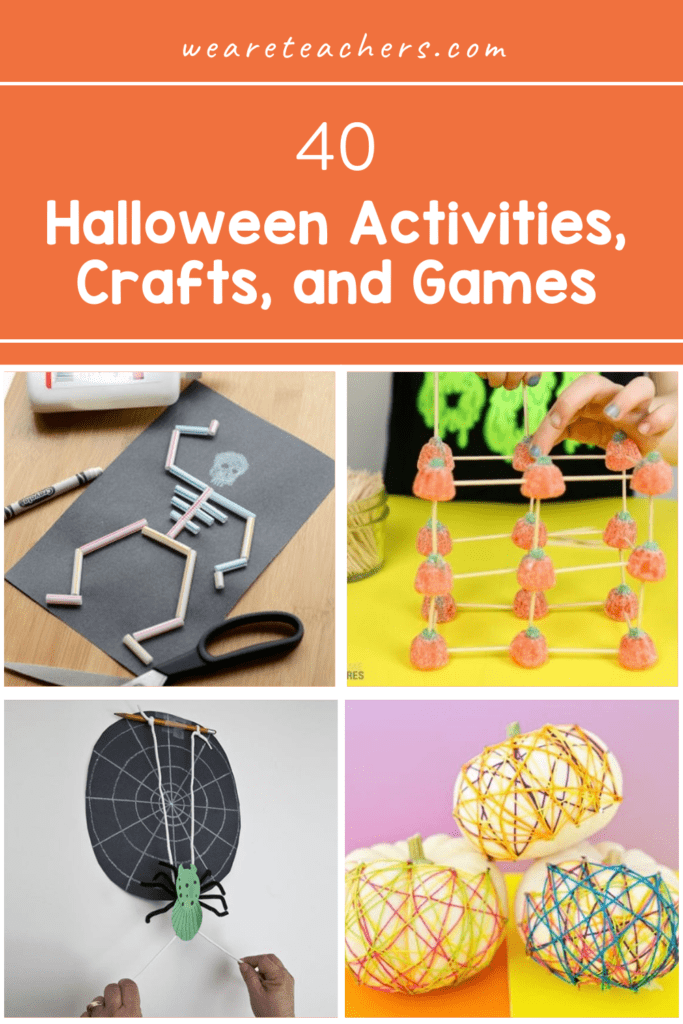 40 Frightfully Fun Halloween Activities, Crafts, and Games For the Classroom
