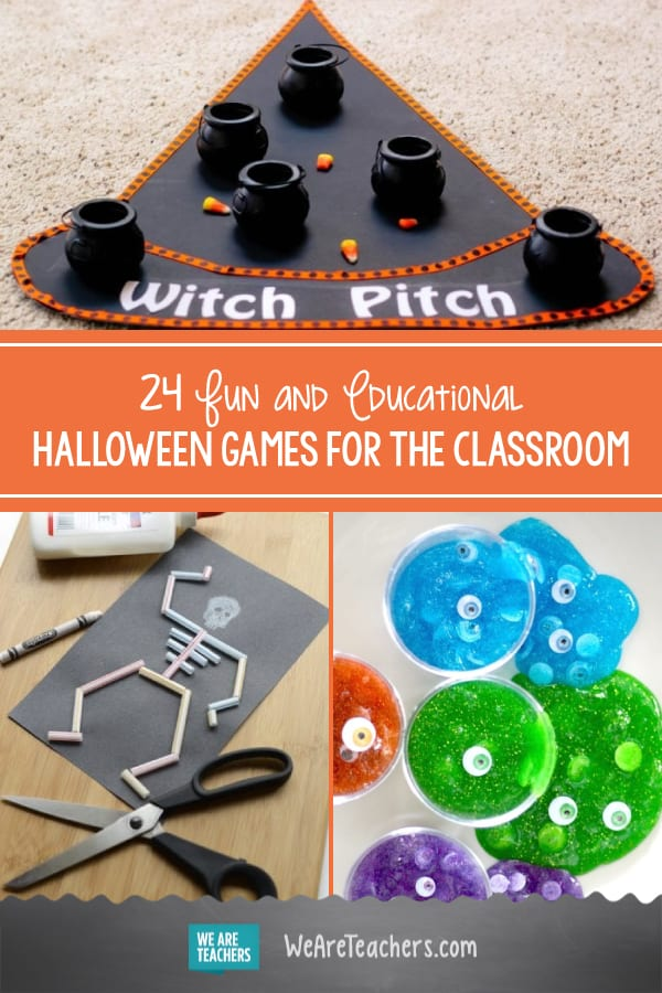 24 Fun and Educational Halloween Games for the Classroom