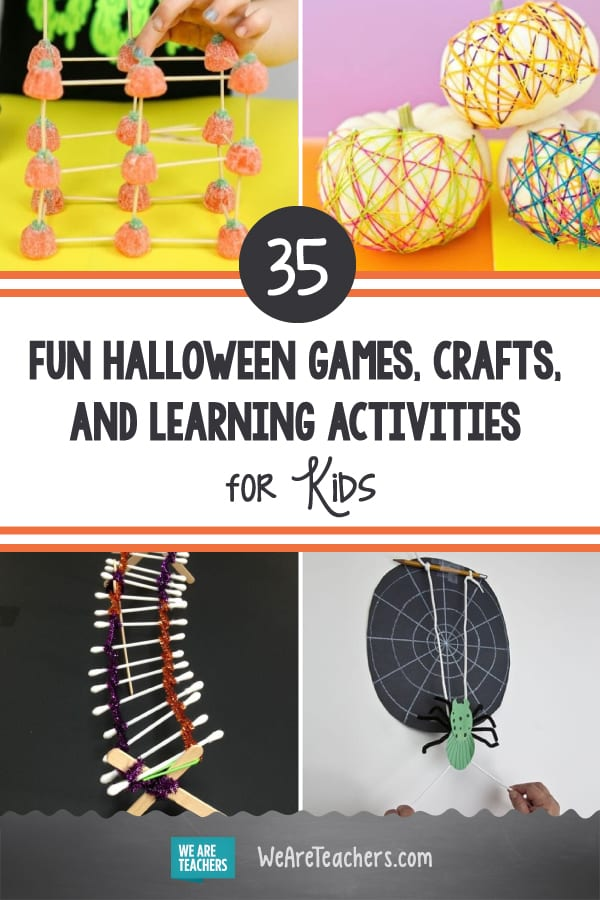 35 Frightfully Fun Halloween Games, Crafts, and Learning Activities for Kids