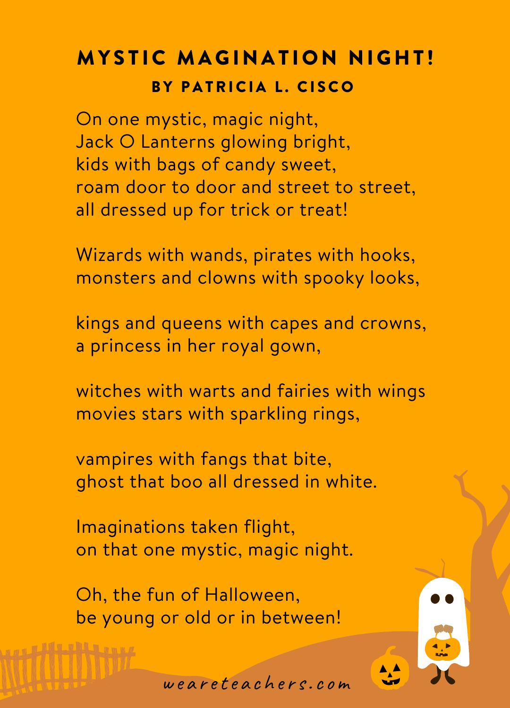 Mystic Magination Night! by Patricia L. Cisco