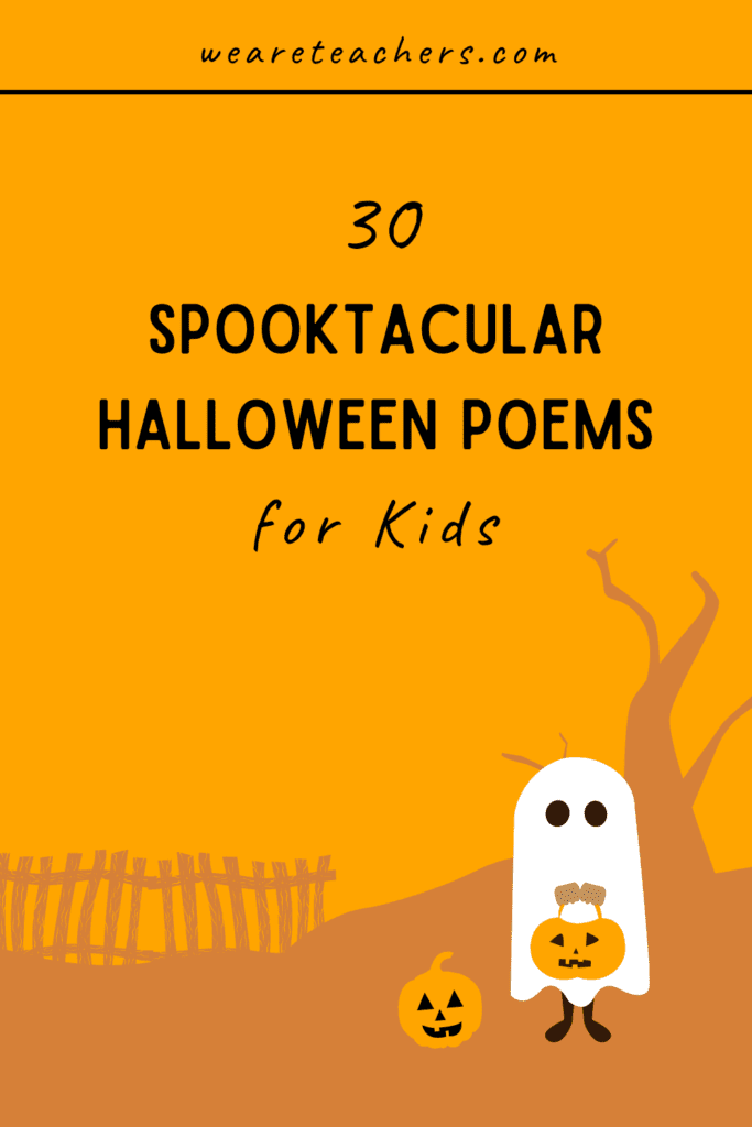 30 Spooktacular Halloween Poems for Kids of All Ages