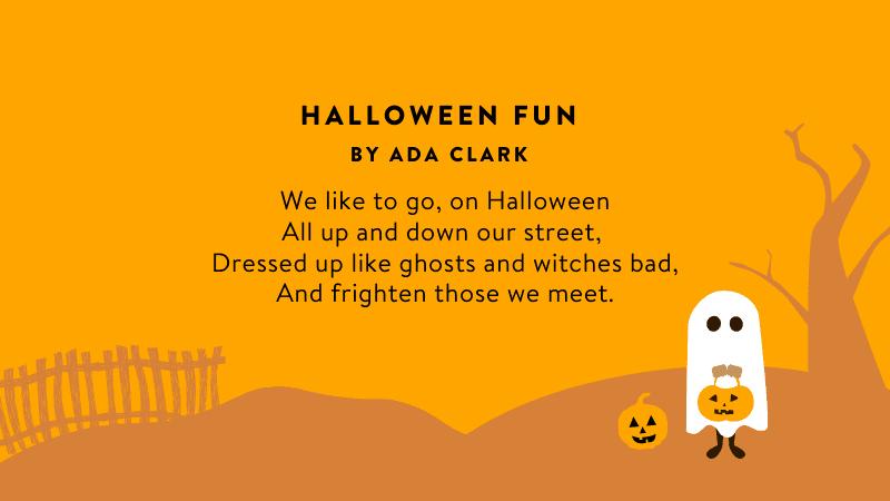 Halloween Fun Poem