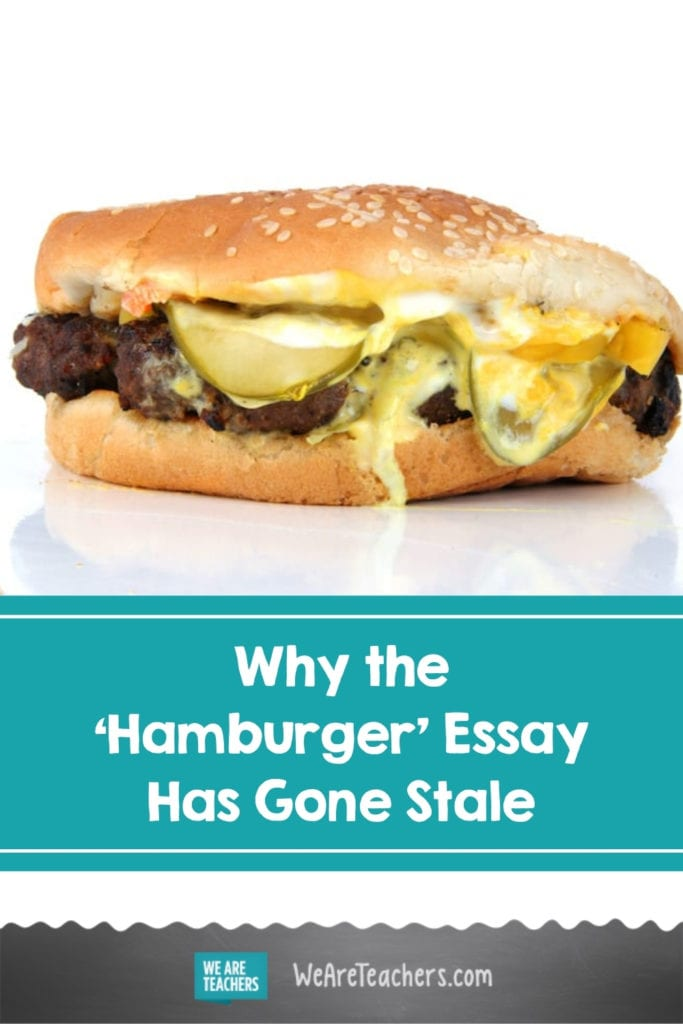 Why the 'Hamburger' Essay Has Gone Stale