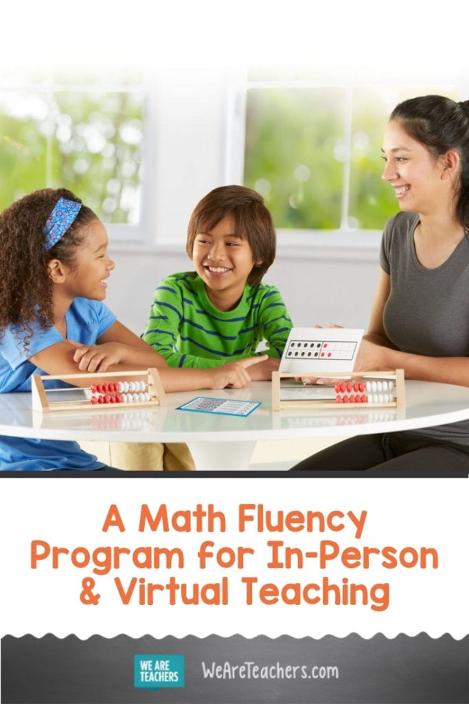 We Love This Math Fluency Program For In-Person and Virtual Teaching