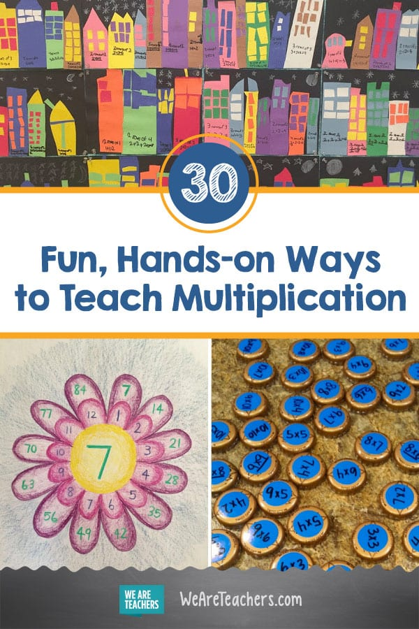 30 Fun, Hands-on Ways to Teach Multiplication