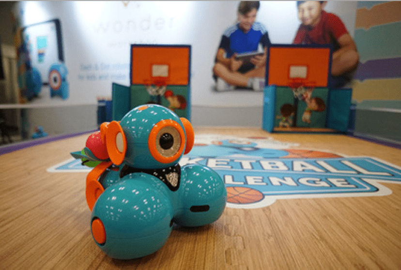 Dash & Dot Basketball Challenge