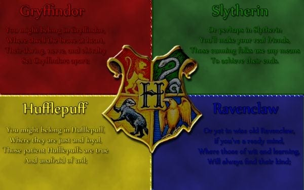 Harry Potter House Systems