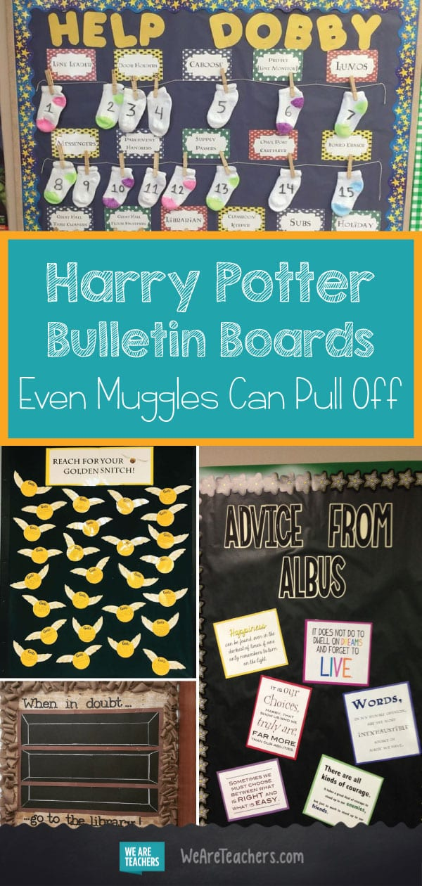 Harry Potter Bulletin Boards That Even Muggles Can Pull Off-- WeAreTeachers