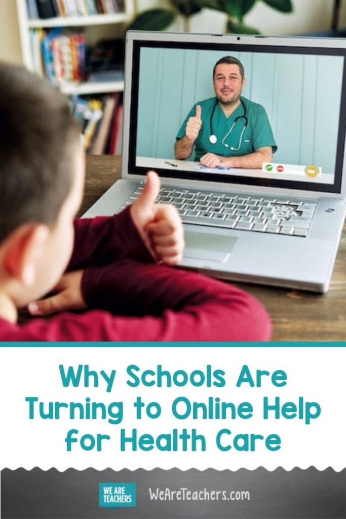 Why Schools Are Turning to Online Help for Health Care