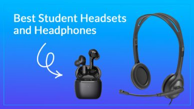 Best student headsets and headphones.