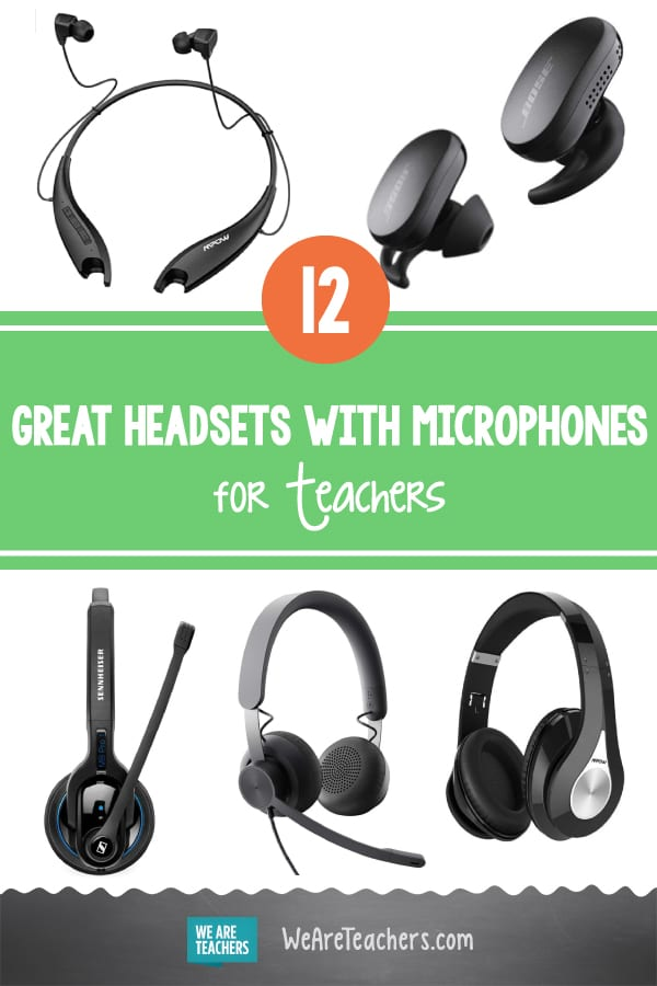 12 Great Headsets With Microphones for Teachers