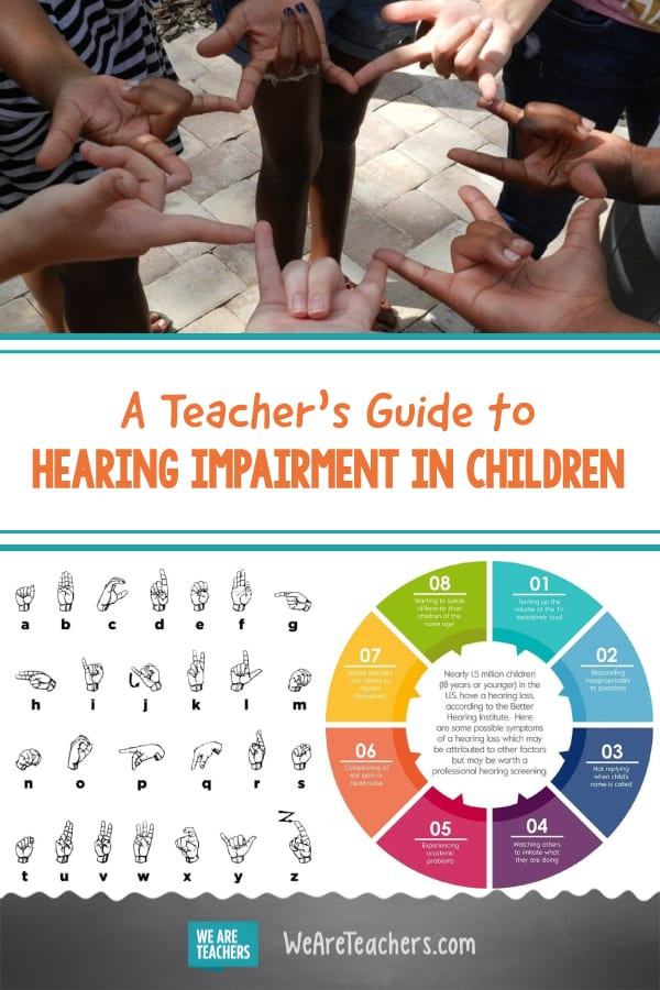 A Teacher's Guide to Hearing Impairment in Children