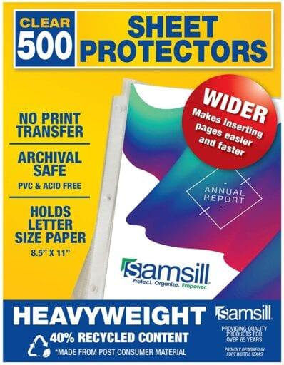 Heavyweight Sheet Protectors