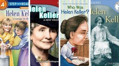 Helen Keller Books for Kids