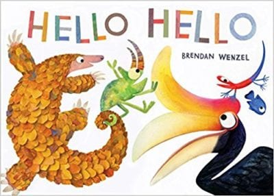 Book cover for Hello Hello