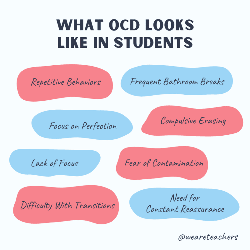 What OCD looks like in students.