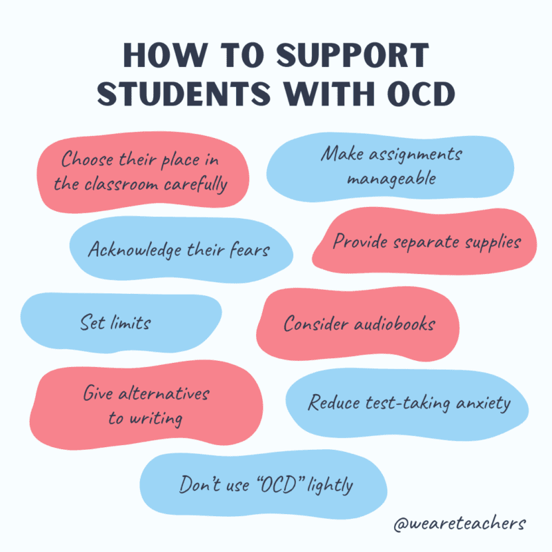 How to support students with OCD.